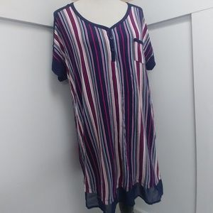Super Soft Stripped Nightshirt!